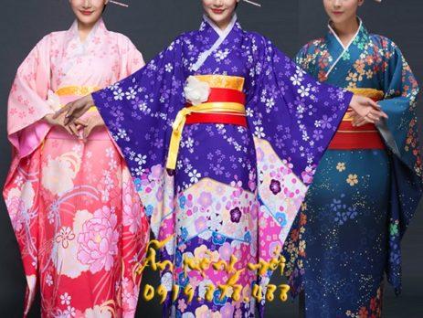 Cho thuê Kimono yukata