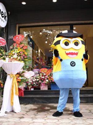 Cho thuê mascot minion