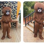 Mascot gau nau gau brown-3