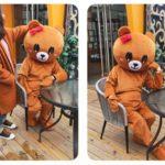 Mascot gau nau gau brown-5