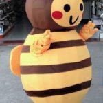mascot ong vang cham chi