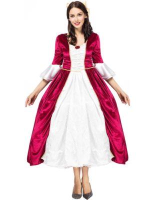 Trang phục quý tộc cung đình châu Âu nữ