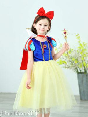 Trang phục công chúa Bạch Tuyết cho bé