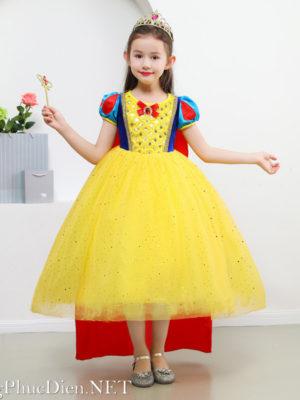Váy công chúa Bạch Tuyết cho bé 2020