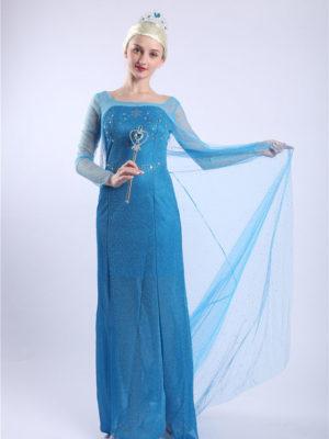 trang phục váy công chúa elsa