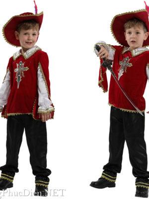Trang phục kỹ sĩ, hoàng tử châu Âu cổ đại