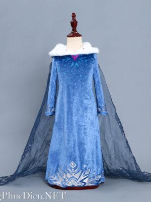 Váy công chúa elsa cho bé Frozen 2020