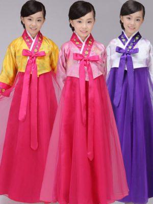 áo hanbok trẻ em