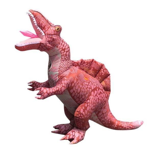 Mascot hơi khủng long gai