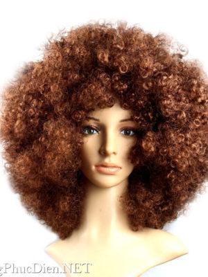 tóc giả xoản xù bông afro