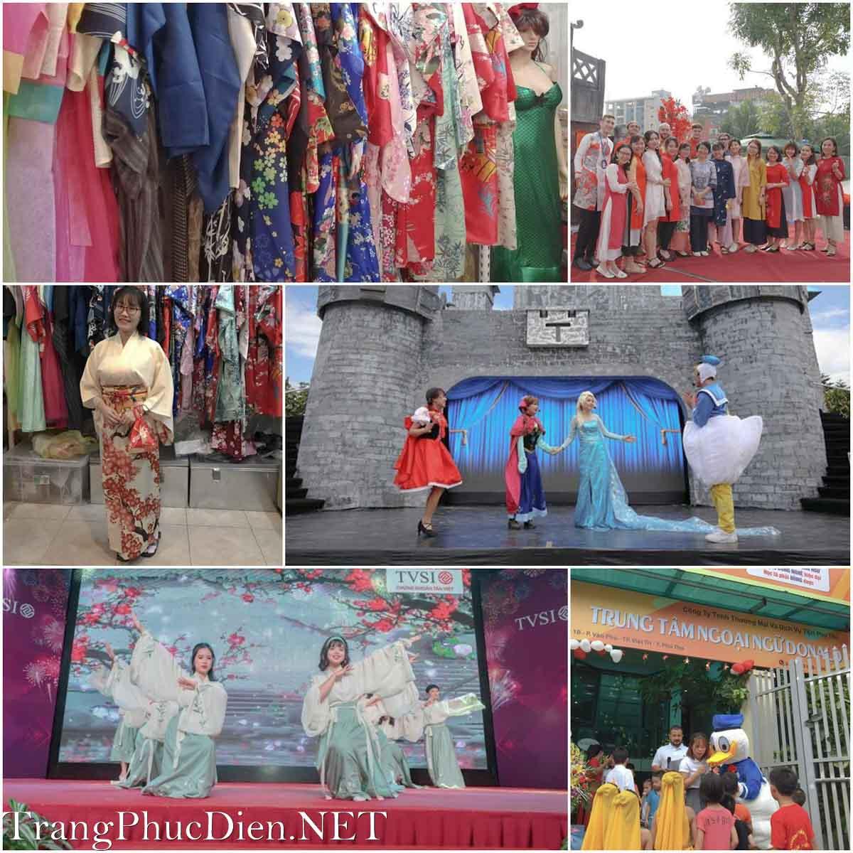 Thuê trang phục biểu diễn tại Hà Nội